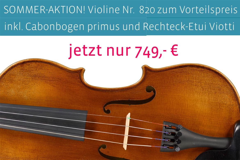 SOMMER-AKTION: Violin-Set Nr. 820